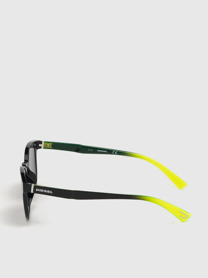 Diesel - DL0328, Black/Yellow - Sunglasses - Image 3