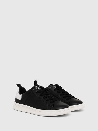 Diesel - SN LOW LACE 11 FULL, Black/White - Footwear - Image 2