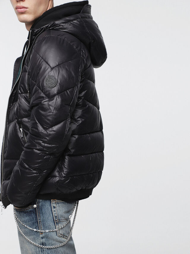 Diesel - W-GARRETT, Black - Winter Jackets - Image 4