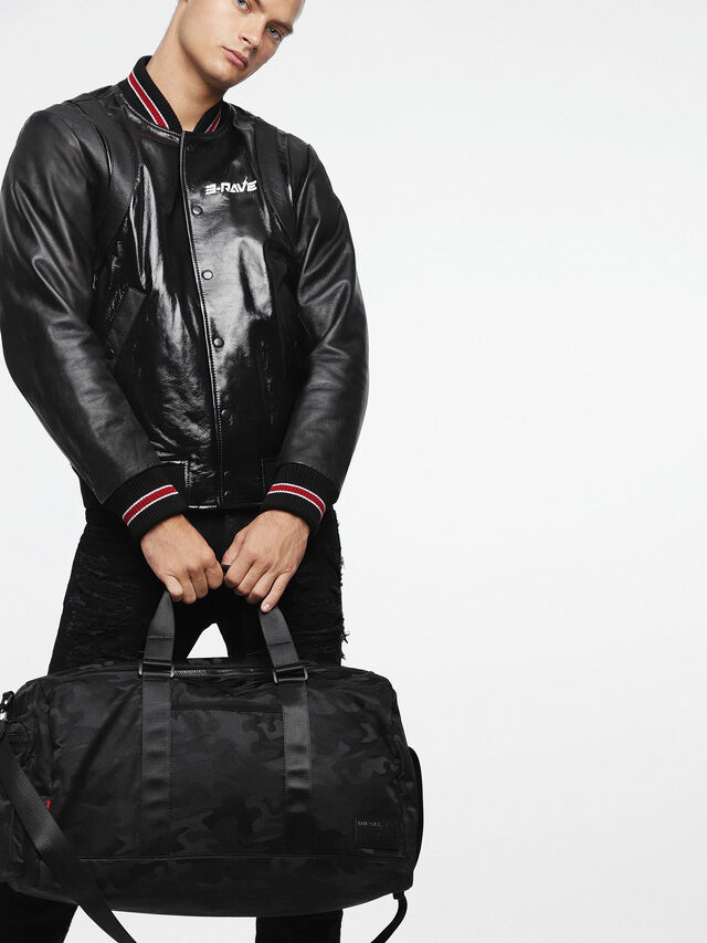F-DISCOVER DUFFLE, Black