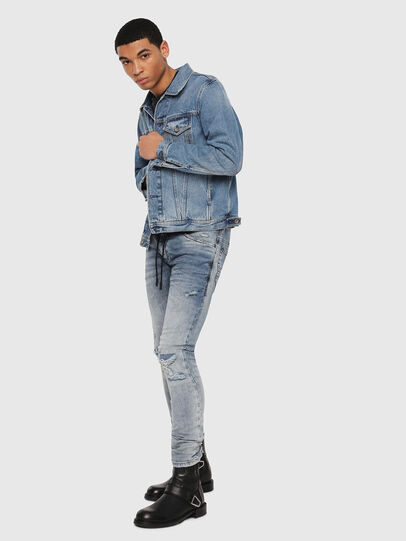 Diesel - Thommer JoggJeans 069FC, Medium blue - Jeans - Image 5