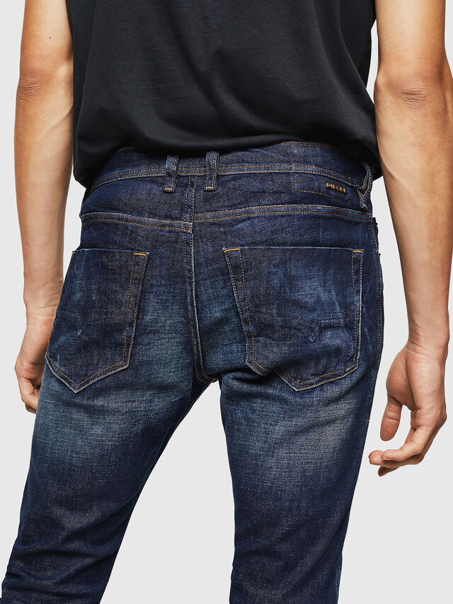 Diesel - Tepphar 087AT, Dark Blue - Jeans - Image 4