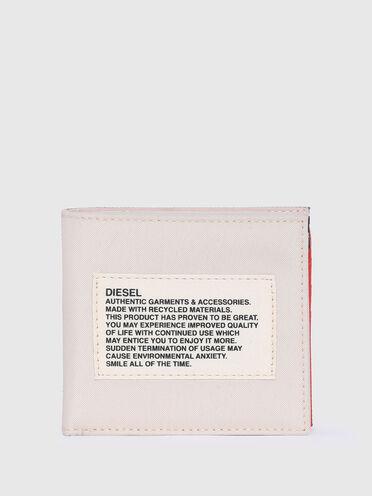 Green label bi-fold wallet
