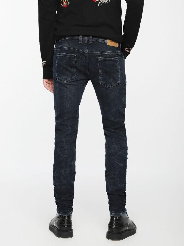 Diesel - Sleenker 084VR, Black/Dark grey - Jeans - Image 2