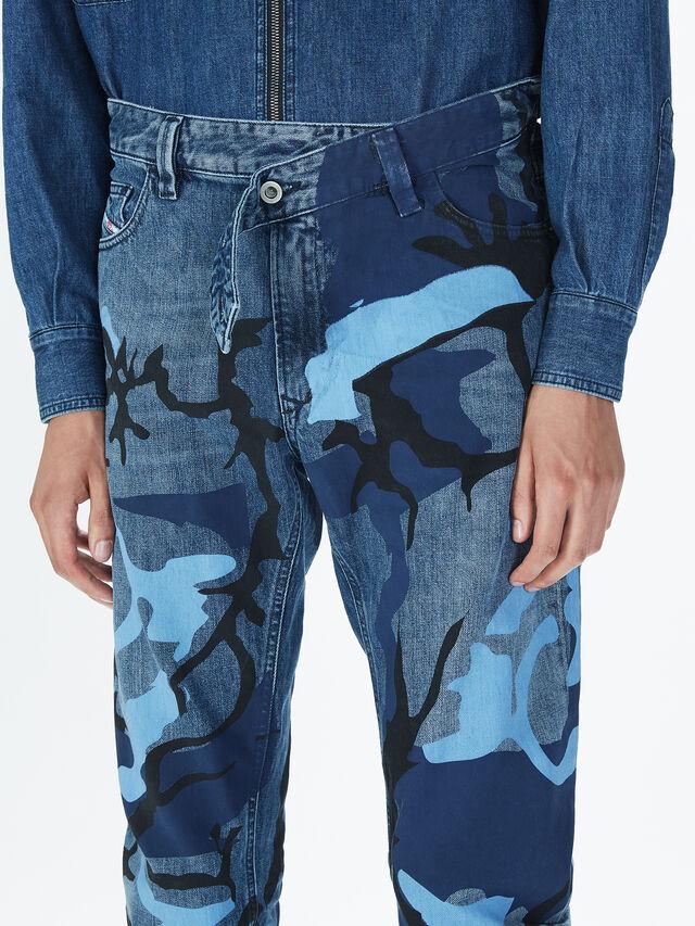 Diesel - SOPKN01, Melange Blue - Jeans - Image 5