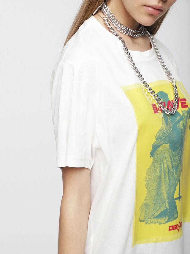Diesel - T-DARIA-C, White - T-Shirts - Image 3
