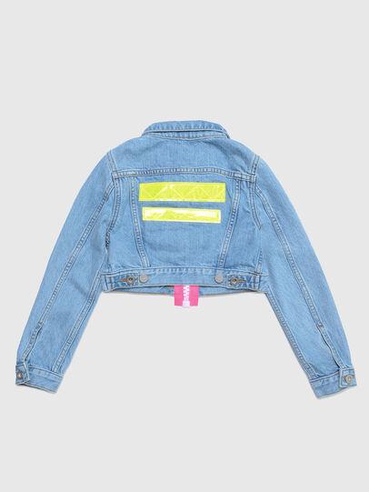 Diesel - JZAUPY, Blue Jeans - Jackets - Image 2