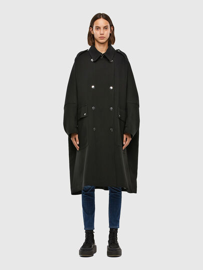 Diesel - W-TILLER, Black - Winter Jackets - Image 1
