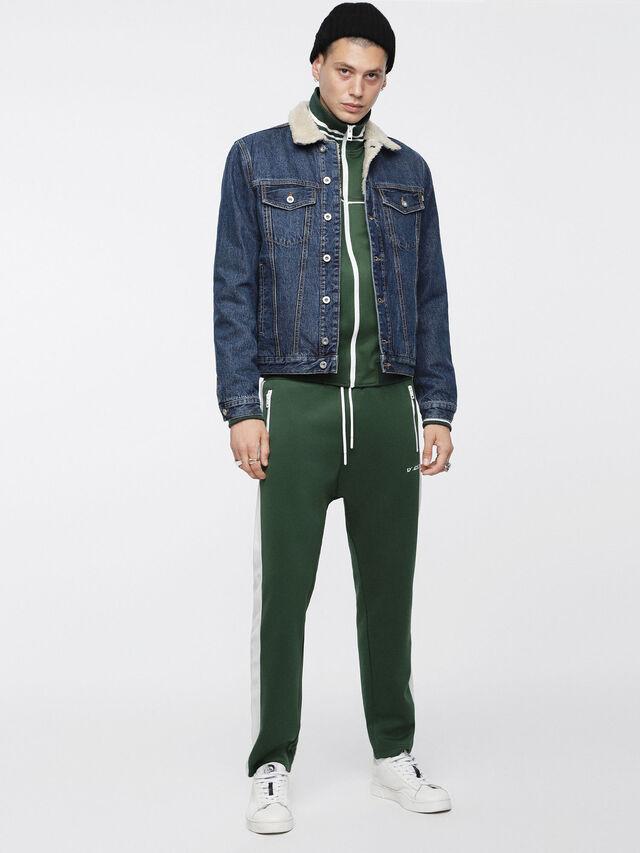 Diesel - D-GIOC-FUR, Blue Jeans - Winter Jackets - Image 6