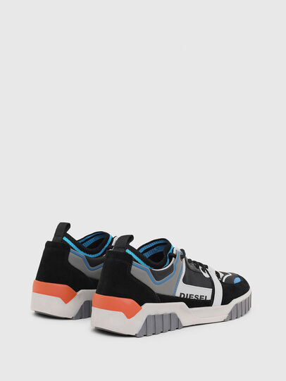 Diesel - S-RUA SL LOW, Black - Sneakers - Image 3