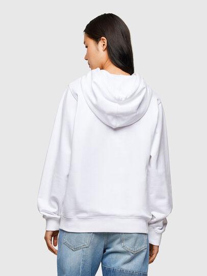 Diesel - F-ANG-HOOD-R20, White - Sweaters - Image 2