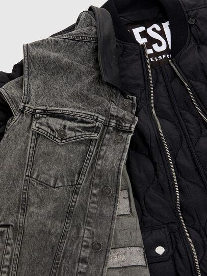 Diesel - D-DESTROY-SP, Grey/Black - Winter Jackets - Image 5