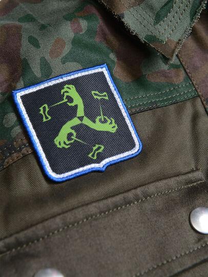 Diesel - JANAPAY, Green Camouflage - Jackets - Image 3