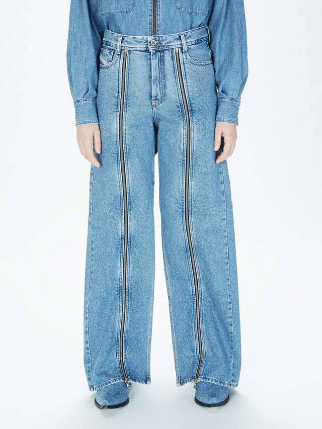 Diesel - SOWL01, Light Blue - Pants - Image 3