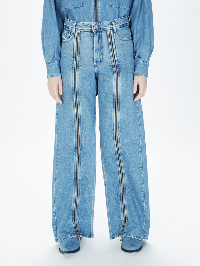 Diesel - SOWL01, Light Blue - Pants - Image 3