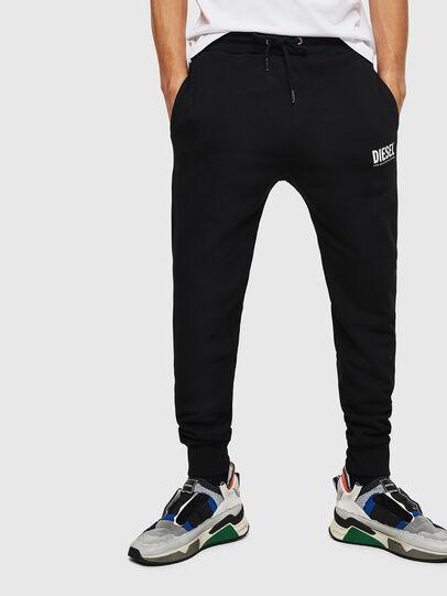 Diesel - P-TARY-LOGO, Black - Pants - Image 4