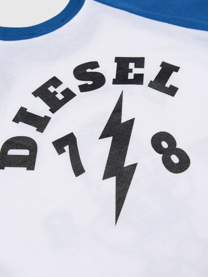 Diesel - TORAB, White/Blue - T-shirts and Tops - Image 3