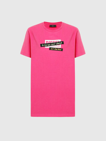 T-shirt with embroidered tape