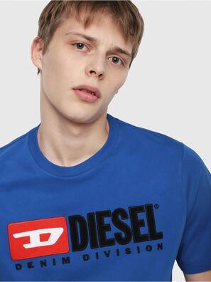 T-JUST-DIVISION, Brilliant Blue - T-Shirts