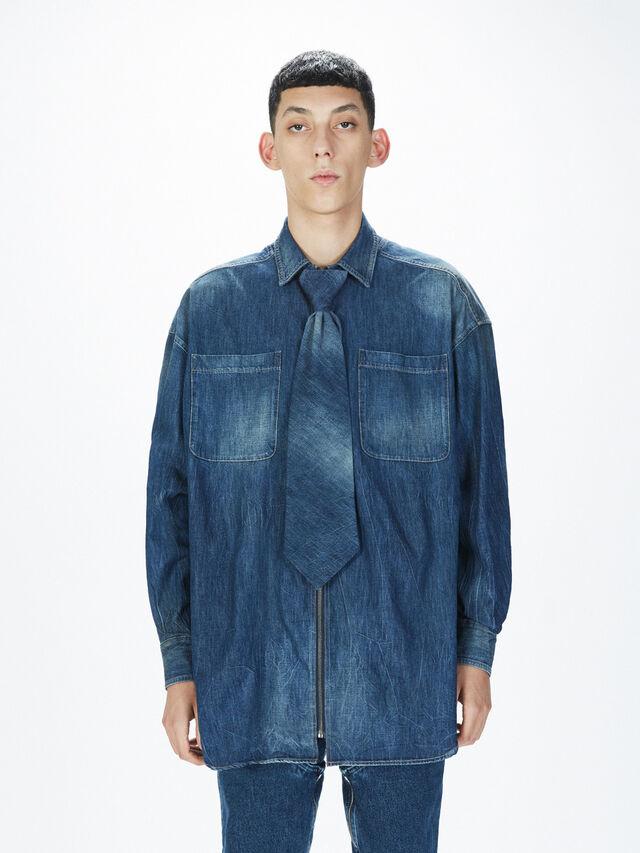 Diesel - SOTS01, Blue Jeans - Shirts - Image 3