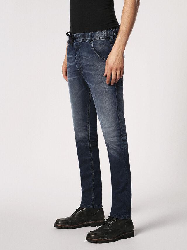 Diesel Krooley JoggJeans 0683Y, Dark Blue - Jeans - Image 7