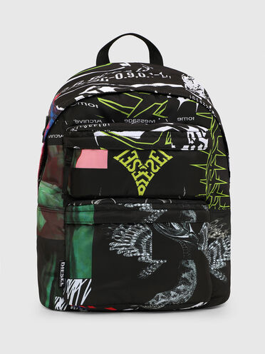 Backpack with graphic print