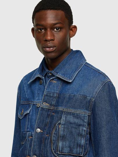 Diesel - D-COSNIL, Medium blue - Denim Jackets - Image 3