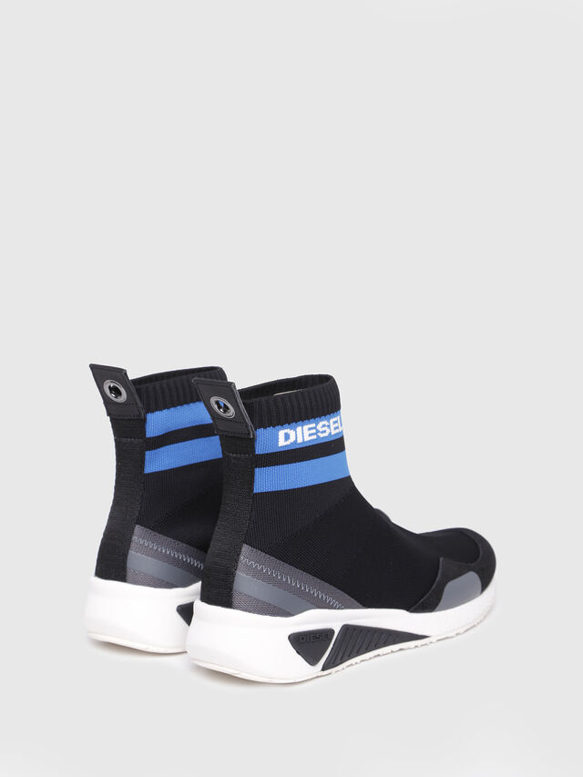 Diesel - S-KB SOCK W, Black/Blue - Sneakers - Image 3