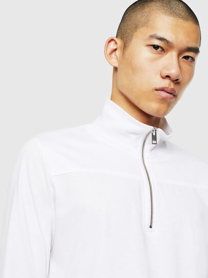 Diesel - T-DIEGO-LS-DOLCE, White - T-Shirts - Image 3
