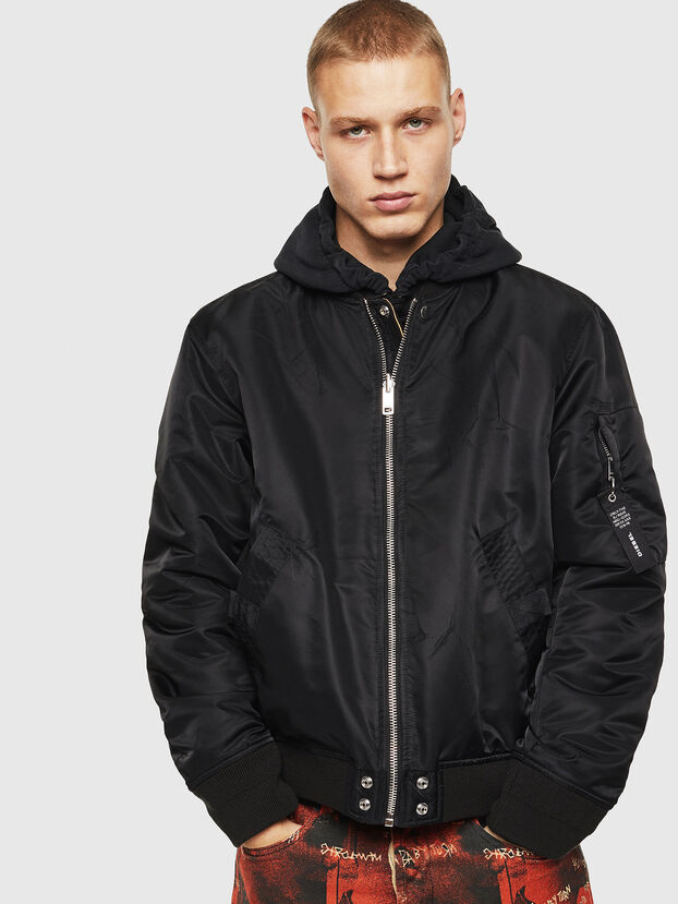 J-ROSS-REV, Black - Jackets