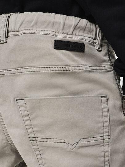 Diesel - Krooley JoggJeans 0670M, Light Grey - Jeans - Image 4