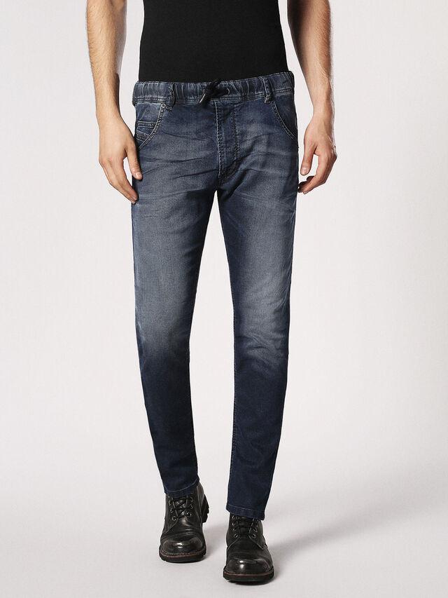 Diesel Krooley JoggJeans 0683Y, Dark Blue - Jeans - Image 2