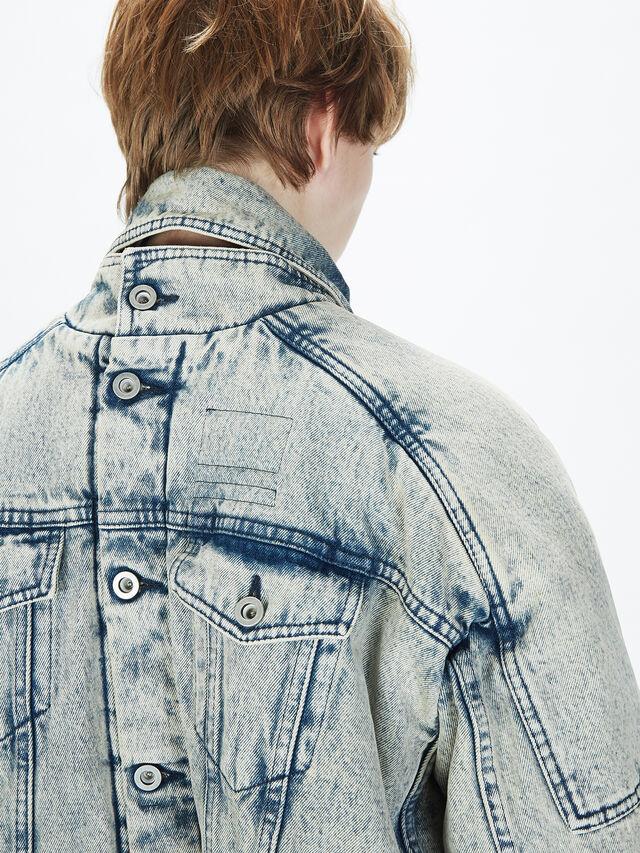 Diesel - SOJK01, Grey Jeans - Jackets - Image 6