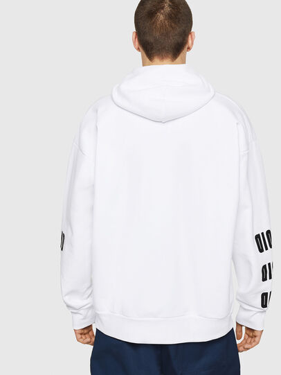 Diesel - S-ALBY-A1, White - Sweaters - Image 2