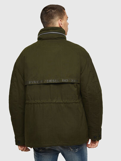 Diesel - J-TOUCHIN, Military Green - Jackets - Image 2