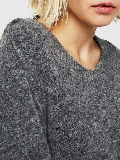 Diesel - M-MARIKAX, Grey - Knitwear - Image 3