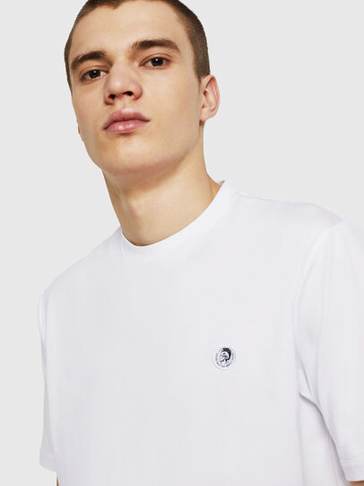 Diesel - T-JUSTY, White - T-Shirts - Image 6