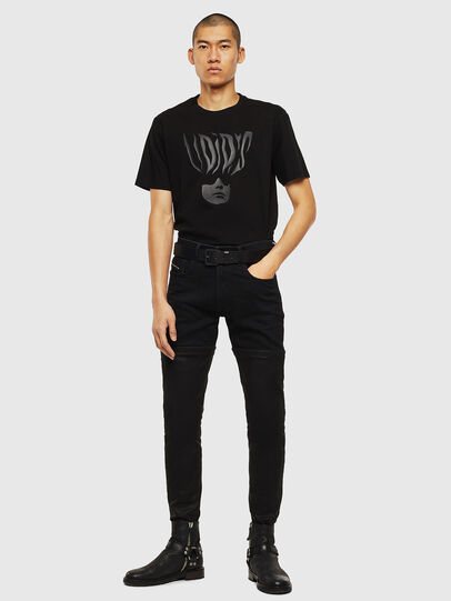 Diesel - T-JUST-J10, Black - T-Shirts - Image 5