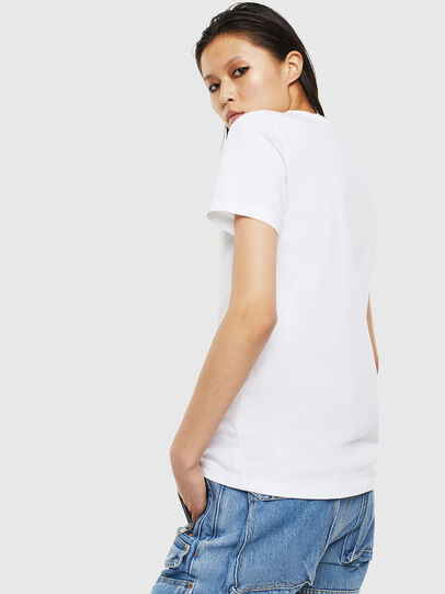 Diesel - T-SILY-S2, White - T-Shirts - Image 2