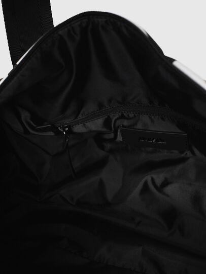 Diesel - F-BOLD DUFFLE, Black/White - Travel Bags - Image 5