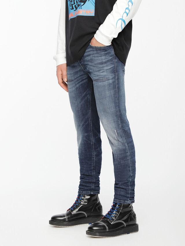 Diesel - Sleenker 084UI, Medium blue - Jeans - Image 3