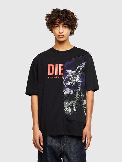 Diesel - T-BLAST, Black - T-Shirts - Image 1