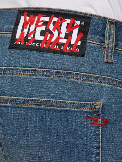 Diesel - D-Istort 009HC, Medium blue - Jeans - Image 4