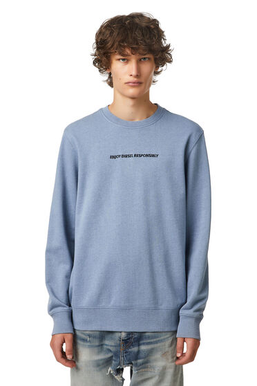 Green Label slogan sweatshirt