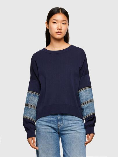 Diesel - M-AQUAMARINE, Blue - Knitwear - Image 1