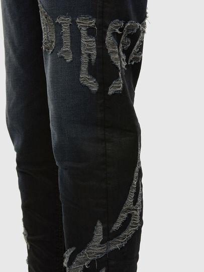 Diesel - D-Vider JoggJeans 009HE, Dark Blue - Jeans - Image 4