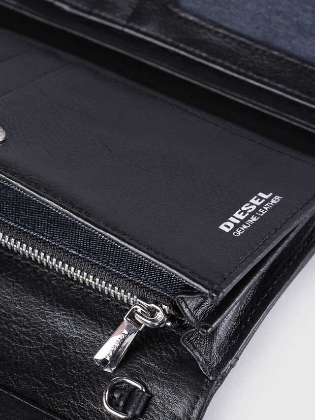 Diesel GIPSI, Black - Small Wallets - Image 4