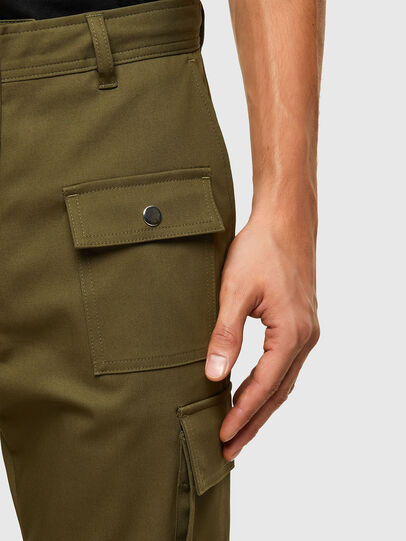 Diesel - P-BRANDEN, Military Green - Pants - Image 3