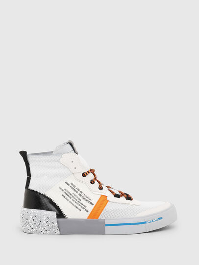 Diesel - S-DESE MID RC, Multicolor/White - Sneakers - Image 1