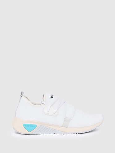 Slip-on sneakers in stretch mesh